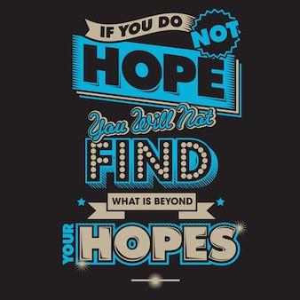 Esperanzas tipografia