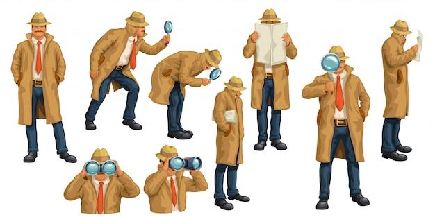 Espía en blanco