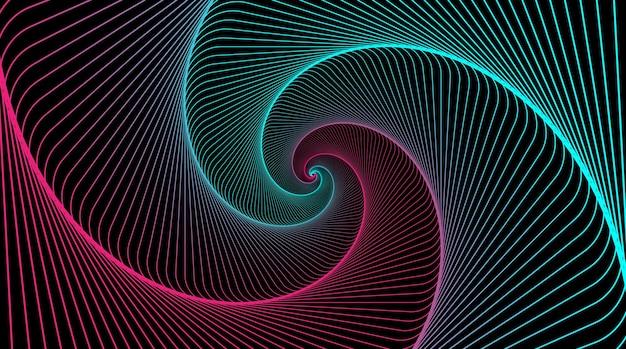 Espiral hipnótica remolino hipnotizar espirales