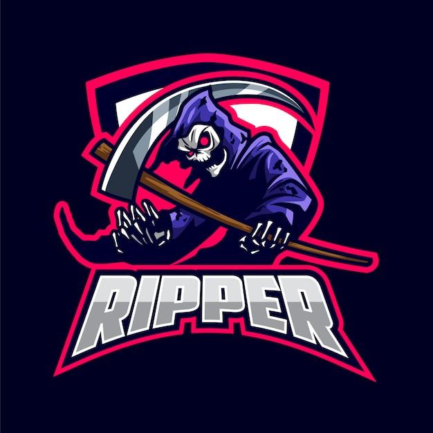 Esports grimreaper logotipo