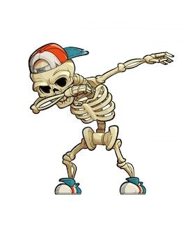 Esqueleto de limpieza