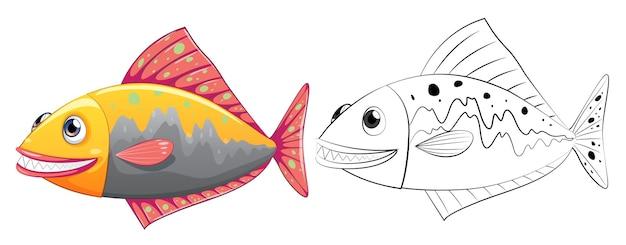 Esquema animal para peces