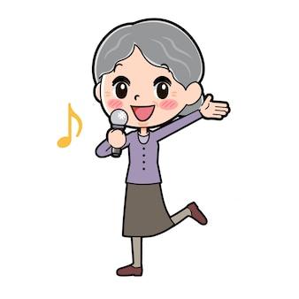 Esquema del canto de la abuela