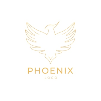 Esquema del logo de phoenix