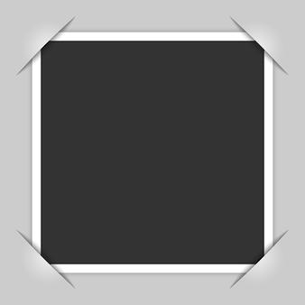 Esquinas del marco de la foto