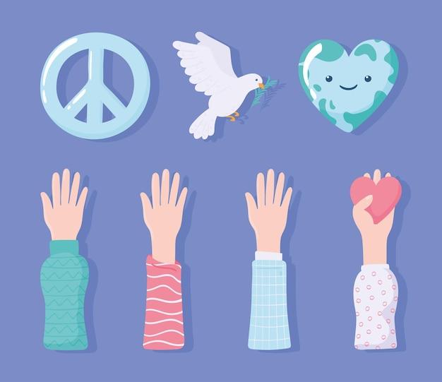 Establecer amor y paz