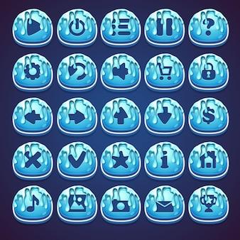 Establecer botones azules