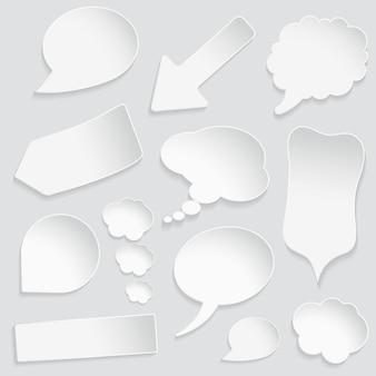 Establecer burbujas de discurso