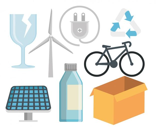 Establecer la conservación ecológica a la protección natural.