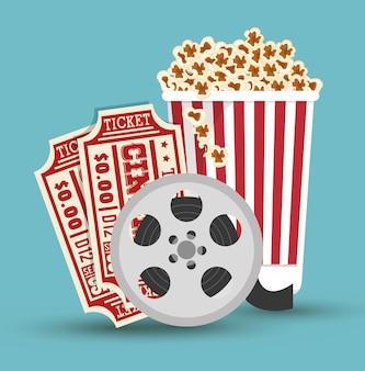 Establecer el diseño del icono de la película de cine