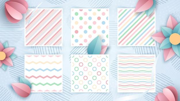 Establecer diseños de patrones sin fisuras