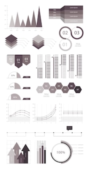 Establecer elementos de infografía