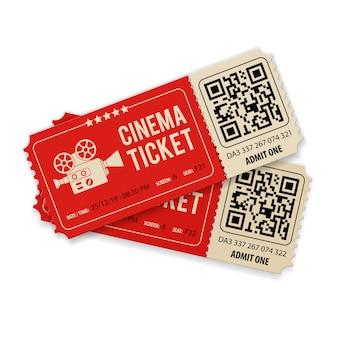 Establecer entradas de cine