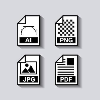 Establecer el icono de formato de documentos