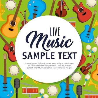 Establecer iconos de instrumentos musicales