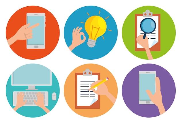 Establecer información comercial y plan de estrategia de análisis