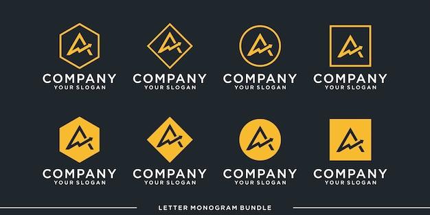 Establecer monograma un logotipo