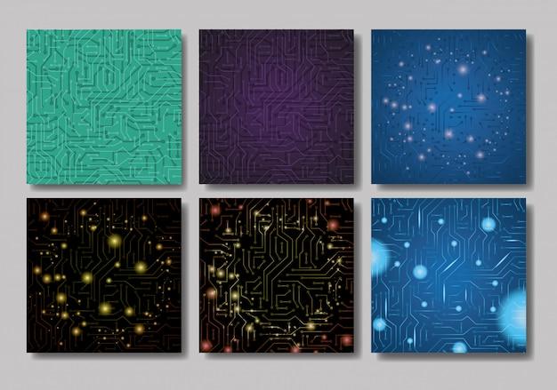 Establecer patrones con circuito eléctrico