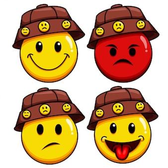 Establecer personaje de emoticon genial
