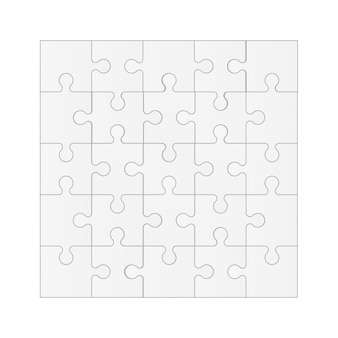 Establecer piezas de rompecabezas, fondo de mosaico.