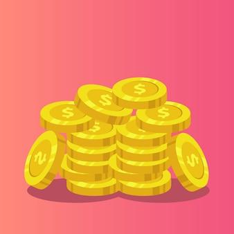 Establecer plantilla de monedas.