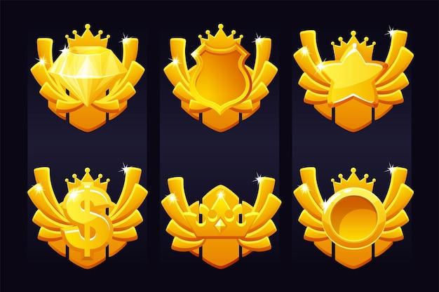 Establecer premios de oro