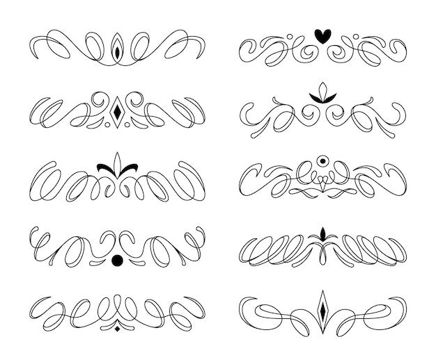 Establecer tipos de marcos y divisores dibujados a mano