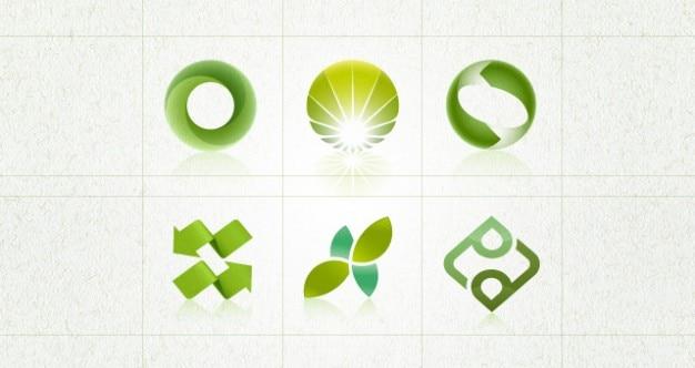 Establezca el entorno logos plantilla