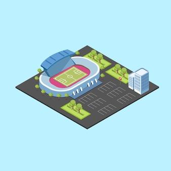 Estadio isometrico