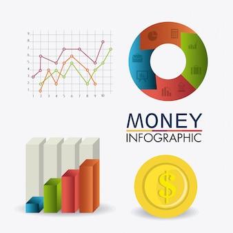 Estadísticas de crecimiento del negocio y ahorro de dinero.