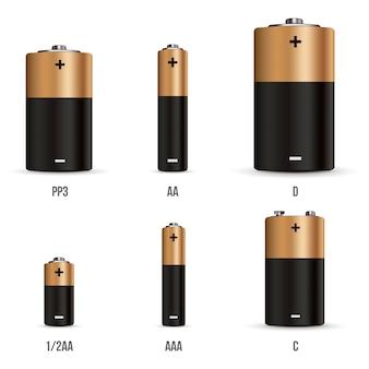 Estado de carga diferente carga de la batería