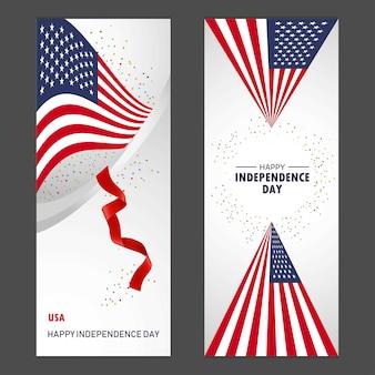 Estados unidos de américa feliz día de la independencia