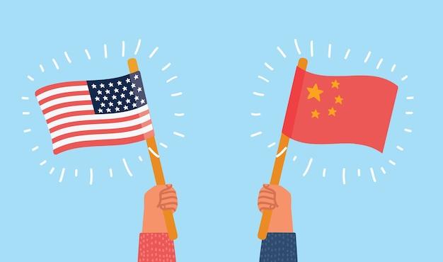 Estados unidos contra china