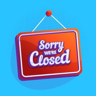 Estamos cerrados
