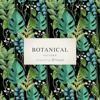 Estampado botánico retro