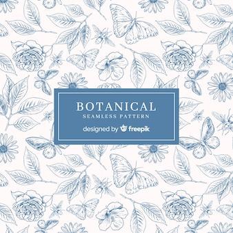 Estampado botánico vintage