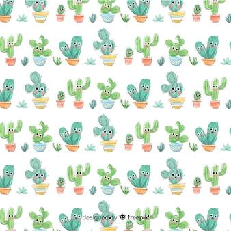Estampado de cactus