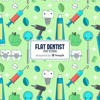 Estampado de dentista