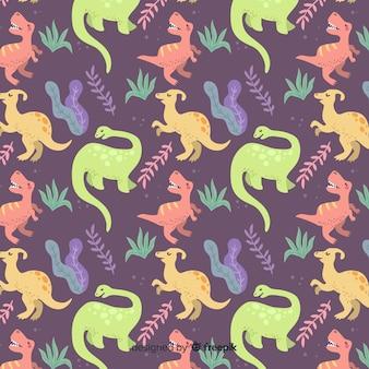 Estampado de dinosaurios