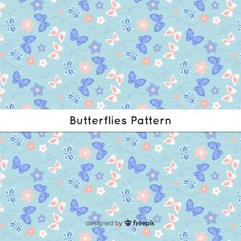 Estampado de mariposas