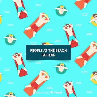 Estampado de playa