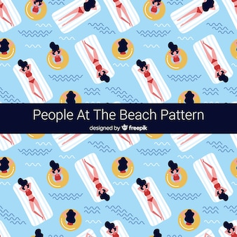 Estampado de playa