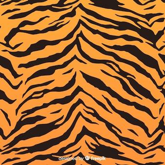 Estampado de rayas de tigre