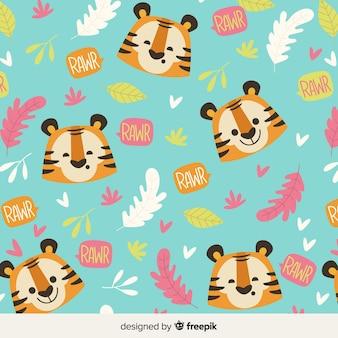Estampado de tigre