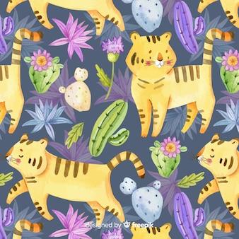 Estampado de tigres