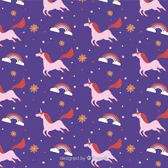 Estampado de unicornio