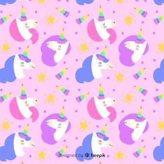Estampado de unicornios