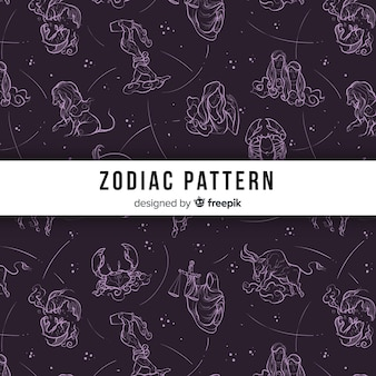 Estampado del zodiaco