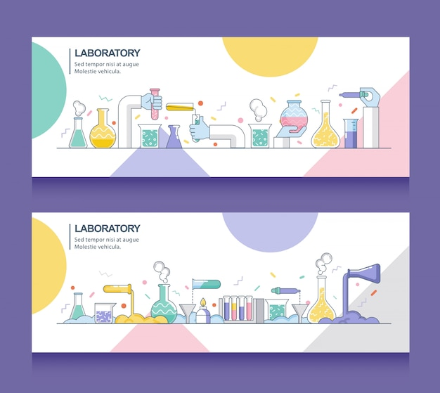 Estandarte de laboratorio