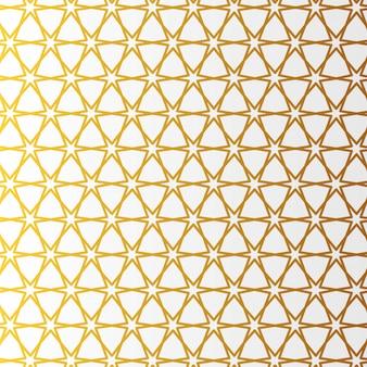 Estilo árabe patrón oro. fondo decorativo geométrico oriental árabe tradicional.